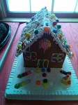Special Christmas Ginger Bread House.