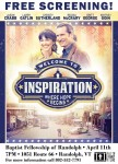 Welcome to Inspiration (Free Screening) at BFR